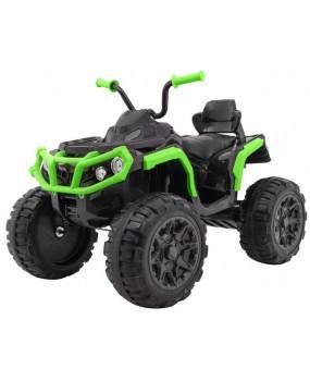 Elektrická štvorkolka ATV 2.4 G čierno-zelená